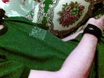 britishflag wristband!